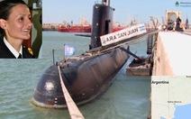 Tàu ngầm quân sự Argentina mất tích cùng 44 người