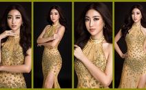 Trang phục dạ hội lộng lẫy của Mỹ Linh tại Miss World