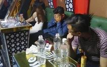 Bắt quả tang 30 thanh niên vào quán karaoke sử dụng ma túy