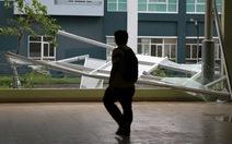 KTX Đại học Quốc gia TP.HCM tan hoang sau mưa lớn