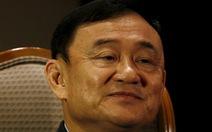 Thái Lan muốn xử vắng mặt cựu Thủ tướng Thaksin