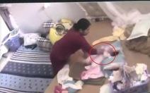 Công an vào cuộc vụ bé 1 tháng tuổi bị người giúp việc bạo hành