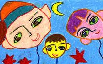 Những bức tranh hi vọng vẽ từ giường bệnh nhi ung thư