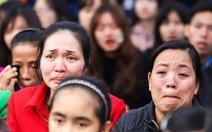 Nụ cười và giọt nước mắt trong Ngày hội Hoa hướng dương