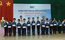TTC tiếp tục trao học bổng cho học sinh Bến Tre