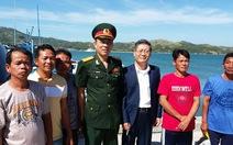 Tổng thống Duterte chủ trì lễ tiễn 5 ngư dân Việt về nước