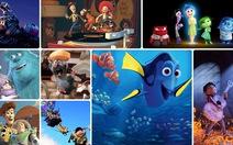 10 tác phẩm xuất sắc của hãng phim hoạt hình Pixar