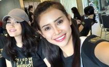 Liên Phương có mặt tại cuộc thi Hoa hậu Đại sứ Du lịch Thế giới