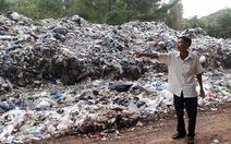 Dân Phú Quốc phản đối xe đổ chất thải hầm cầu vào bãi rác