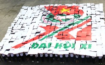 Cả ngàn sinh viên TP.HCM đồng diễn mừng Đại hội Đoàn toàn quốc XI