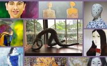 Triển lãm điêu khắc, tranh 'Chân dung' sẽ vẽ ký họa tặng khán giả
