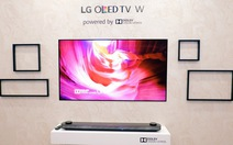 """Chiêm ngưỡng mẫu TV """"siêu mỏng"""" của LG"""