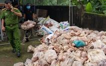 Đà Nẵng tiêu hủy 15 tấn thịt và nội tạng siêu bẩn