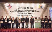 """HVN tổ chức lễ trao tặng """"Giải thưởng Honda Y-E-S"""" lần thứ 12"""