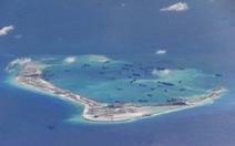 Trung Quốc tiếp tục xây dựng trên Biển Đông