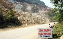 Sập mỏ đá ở Nghệ An, 1 người chết, 2 người bị thương