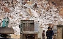 Đình chỉ hoạt động mỏ đá sập làm chết người