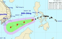 Bão đã vào biển Đông, có thể mạnh thêm