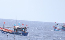 Bình Định: Sóng đánh chìm tàu cá, 1 ngư dân mất tích