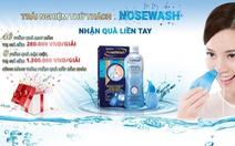 Cơ hội miễn phí trải nghiệm cách rửa mũi mới từ Nhật