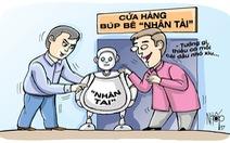 Báo đừng đăng tin 'Nhân tài đất Việt' nữa...