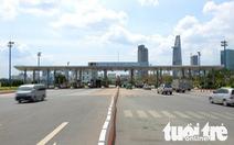 TP.HCM đồng ý tháo dỡ trạm thu phí hầm sông Sài Gòn