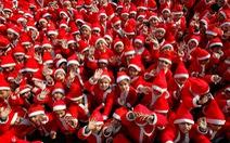 Giáng sinh rộn ràng khắp thế giới
