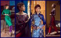 Tóc ngắn Phí Phương Anh cá tính với áo dài