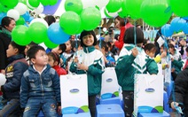 Vinamilk trao 70.500 ly sữa cho trẻ em Hưng Yên