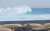 Thủ tướng: có thể đóng giàn khoan tránh bão Tembin