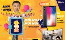 Cơ hội sở hữu iPhone X với giá 50.000 đồng