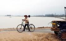 Mưa lụt khác thường, hàng ngàn hecta lúa mới sạ bị ngập