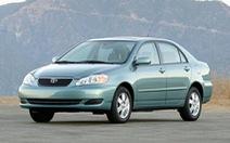 Toyota triệu hồi 8.036 xe do lỗi túi khí