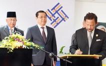 Quốc vương Brunei ký khai trương trung tâm tiếng Anh tại Đà Nẵng