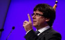 Chính quyền Catalonia bị áp lực hủy bỏ kết quả trưng cầu