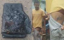 Mẫu điện thoại bắt chước Samsung của Xiaomi cũng phát nổ