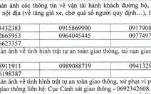 Công bố 12 số điện thoại đường dây nóng giao thông dịp tết Dương lịch