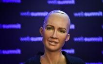 'Cô' robot công dân muốn 'tính chuyện gia đình'