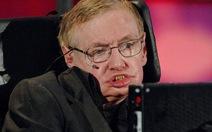 Giáo sư Stephen Hawking lo trí tuệ nhân tạo sẽ thay thế con người
