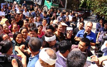 Hàng trăm người tiễn đưa nhà báo trẻ Đinh Hữu Dư