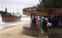 Tiếp tục điều 18 tàu tìm 9 thuyền viên mất tích
