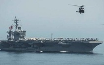 Tàu sân bay thứ 2 của Mỹ đã vào tây Thái Bình Dương