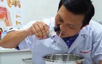 Video Bác sĩ hướng dẫn cách rửa mũi dễ làm, hiệu quả