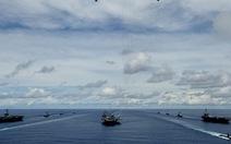 Ba tàu sân bay Mỹ tới châu Á bảo vệ ông Trump