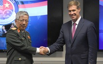 Thượng tướng Nguyễn Chí Vịnh đối thoại quốc phòng ở Hoa Kỳ