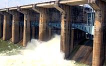 Thủy điện Trị An tăng gấp đôi lượng nước xả qua đập tràn