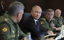 Ông Putin bỏ họp LHQ để điều hành tập trận sát biên giới NATO