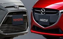 Toyota và Mazda bắt tay nhau làm xe hơi điện