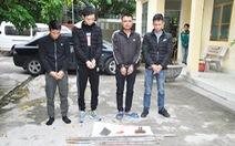 Khởi tố 4 người trộm 8,5 tấn chì