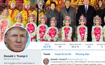 Ông Tập cho mở Twitter cho ông Trump xài?